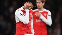 Arsenal bị truyền thông Châu Âu 'đánh' tơi tả sau thảm bại Champions League