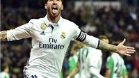 Sergio Ramos: Ông Vua của những khoảnh khắc quyết định