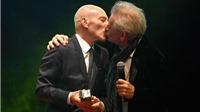 'Giáo sư X' và 'Magneto' của loạt phim 'Dị nhân' hôn môi đắm đuối