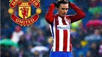 Man United dẫn đầu cuộc đua mua Griezmann khi sẵn sàng chi 100 triệu