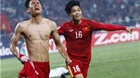 Vũ Minh Tuấn quyết phá lưới Afghanistan, U20 Việt Nam chạy bộ trên cát