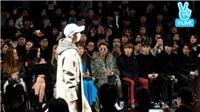 Sơn Tùng M-TP ngồi cạnh Seventeen tại Seoul Fashion Week