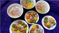 Tết Hàn thực: Nhà nhà mách nhau cách làm bánh trôi, bánh chay ngũ sắc