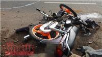 Cặp vợ chồng người Nga đi phượt bị tai nạn giữa đêm tại Ninh Thuận
