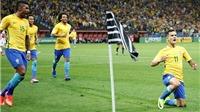 Brazil giành vé dự World Cup 2018 đầu tiên