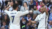 Hàng công Real Madrid: Benzema đang gánh cả 'BBC'!