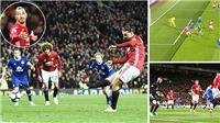ĐIỂM NHẤN M.U 1-1 Everton: 'Quỷ đỏ' quá đen, Old Trafford thành Draw Trafford. Mourinho kém cả Van Gaal