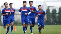 HLV Hoàng Anh Tuấn 'tra tấn thể lực' U20 Việt Nam