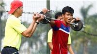 U20 Việt Nam: Sáng rèn thể lực, chiều tập chiến thuật