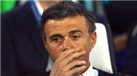 Vì Enrique, Barcelona không còn lối thoát
