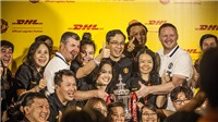DHL mang 2 danh thủ CLB Man United đến Việt Nam
