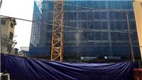 Hà Nội: Tạm ngừng thi công công trình bị sập giàn giáo
