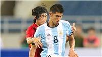 Chuyên gia Nguyễn Thành Vinh: 'Muốn HCV SEA Games, cần thêm nhiều U20 Argentina'