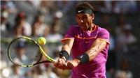 Tennis ngày 18/5: Nadal thắng trận sau 25 phút thi đấu. Con trai Djokovic làm quen với quần vợt