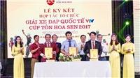 Hơn 7 tỷ đồng cho giải xe đạp quốc tế VTV Cúp Tôn Hoa Sen 2017