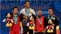Thạch Kim Tuấn xuất thần giành 3 HCV giải cử tạ thế giới