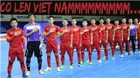 Link trực tiếp bóng đá futsal Việt Nam vs Malaysia