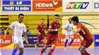 Lịch thi đấu và xem trực tiếp futsal VCK châu Á 2018. Trực tiếp Việt Nam vs Malaysia