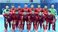 Xem trực tiếp futsal Việt Nam vs Uzbekistan