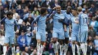 Thắng hủy diệt Crystal Palace, Man City chính thức soán vị trí của Liverpool