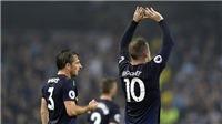 Rooney phá lưới Man City, không quên gửi lời 'yêu thương' tới M.U