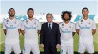 Real Madrid công bố 4 đội trưởng, và 3 trong số đó đã bị... đuổi mùa này