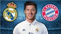 CHUYỂN NHƯỢNG 16/9: Lewandowski quyết sang Real. Chelsea để mắt tới Chiellini. Mueller thích M.U
