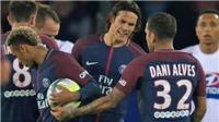 ẢNH CHẾ: 'Tranh bóng với Cavani như tranh bạn gái, Neymar hẳn đang nhớ Messi'