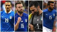 Italy lỡ World Cup, hàng loạt ngôi sao chia tay đội tuyển
