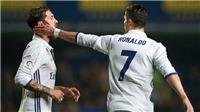 Ronaldo và Ramos khẩu chiến khiến nội bộ Real căng thẳng