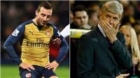HLV Wenger: 'Chấn thương của Cazorla là khủng khiếp nhất tôi từng chứng kiến'