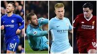 Đội hình tiêu biểu vòng 15 Premier League gọi tên 'siêu nhân' De Gea và Hazard
