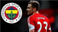 CHUYỂN NHƯỢNG M.U 22/12: Sắp mua Alex Sandro, nhiều khả năng bán Luke Shaw