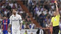 Real Madrid 0-3 Barcelona: Ra đòn với Suarez, Ramos may mắn thoát thẻ đỏ