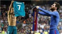 CẬP NHẬT tối 22/12: Messi và Ronaldo có camera riêng ở 'Kinh điển'. Giggs chỉ trích M.U vì để hụt Mbappe