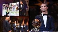 Những khoảng khắc đáng nhớ tại Lễ trao giải Quả bóng vàng 2017