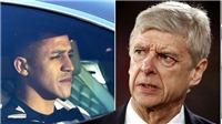 Wenger tố Sanchez bỏ Arsenal sang M.U chỉ vì tiền
