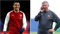 Diễn biến mới: Sanchez gặp Sir Alex ở sân Old Trafford, chuẩn bị kí hợp đồng với M.U