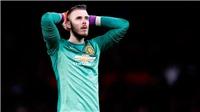 Fan M.U sốc khi thấy De Gea không lọt vào Top 15 thủ môn xuất sắc của FIFA