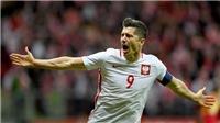 Video clip highlights bàn thắng trận Balan 4-2 Montenegro