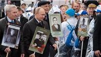 Hình ảnh ấn tượng Tổng thống Putin diễu hành trên Quảng trường Đỏ
