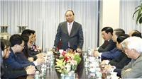 Thủ tướng Nguyễn Xuân Phúc tiếp doanh nhân, trí thức gốc Việt tại Hoa Kỳ