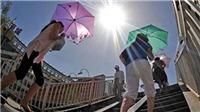 Hà Nội nắng nóng kỷ lục, dự báo ngoài trời có thể lên 45 độ C