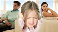 Bố mẹ không hòa thuận gây hại cho sức khỏe con trẻ