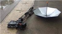 Bắt khẩn cấp đối tượng đâm xe vào máy quay phóng viên VTV