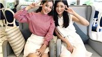 Chi Pu 'siêu đáng yêu' bên 'nữ thần sắc đẹp' Chaeyeon (DIA)