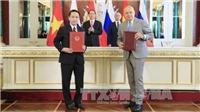 Thông tấn xã Việt Nam ký Thỏa thuận trao đổi thông tin với Hãng truyền thông Sputnik