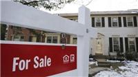 Doanh số bán nhà mới ở Mỹ lập 'đỉnh' trong ba tháng
