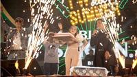 Nguyên Khang bất ngờ chúc mừng sinh nhật Bảo Anh trên sân khấu