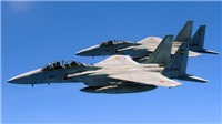Chiến đấu cơ Nhật Bản, Mỹ diễn tập trên không ở Biển Hoa Đông